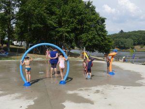 un été à courtille - jeux d'eau